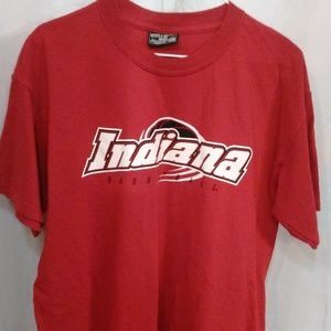 Indiana Basketball Sport Athletic Tee Shirt ( L)